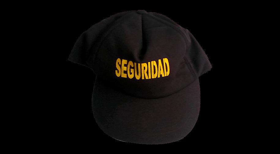 Gorra para agentes de seguridad