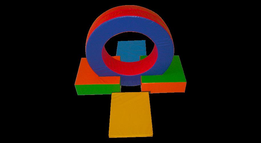 Set de círculo de 5 pzas
