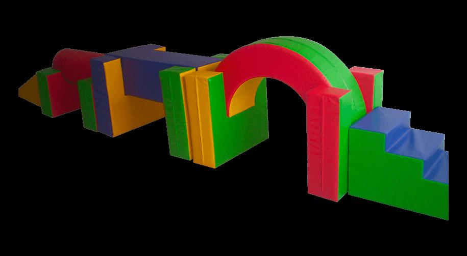 set de equilibrio de 11  pz